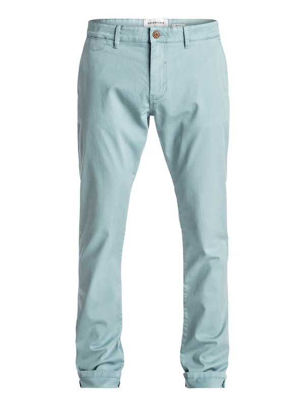 0 Krandy - Chino Pants Blue EQYNP03108 Quiksilver