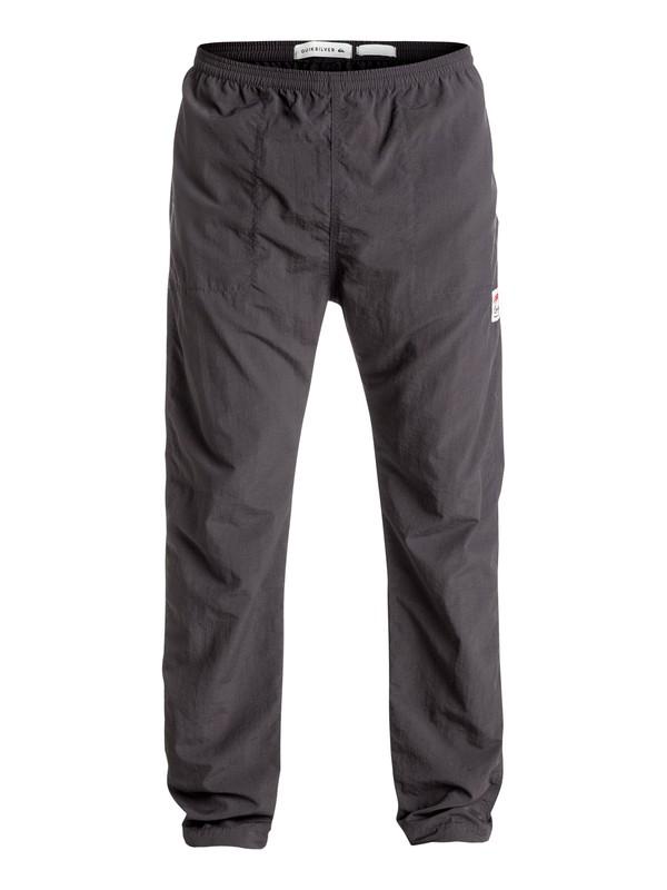 0 Dynasty Walls - Pantalon de plage Noir EQYNP03119 Quiksilver