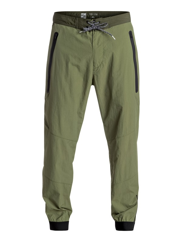 0 Sonic Powers Technical Pants Green EQYNP03120 Quiksilver