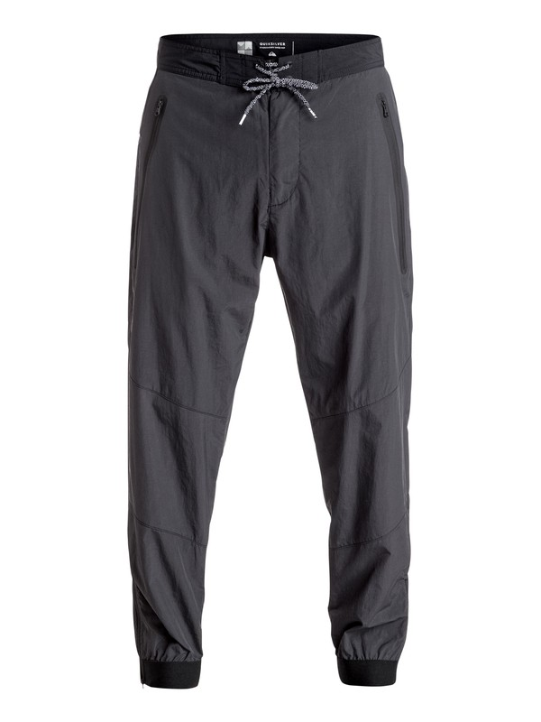 0 Sonic Powers Technical Pants Black EQYNP03120 Quiksilver
