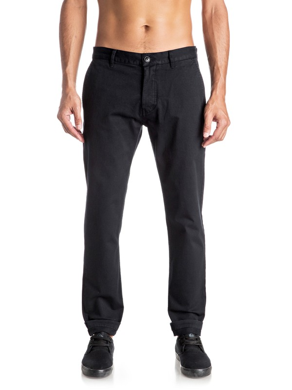 0 Cropped Chino Pants  EQYNP03121 Quiksilver