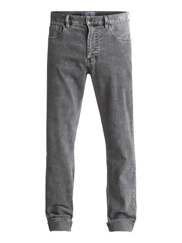 0 Kracker Corduroy Trousers Black EQYNP03129 Quiksilver