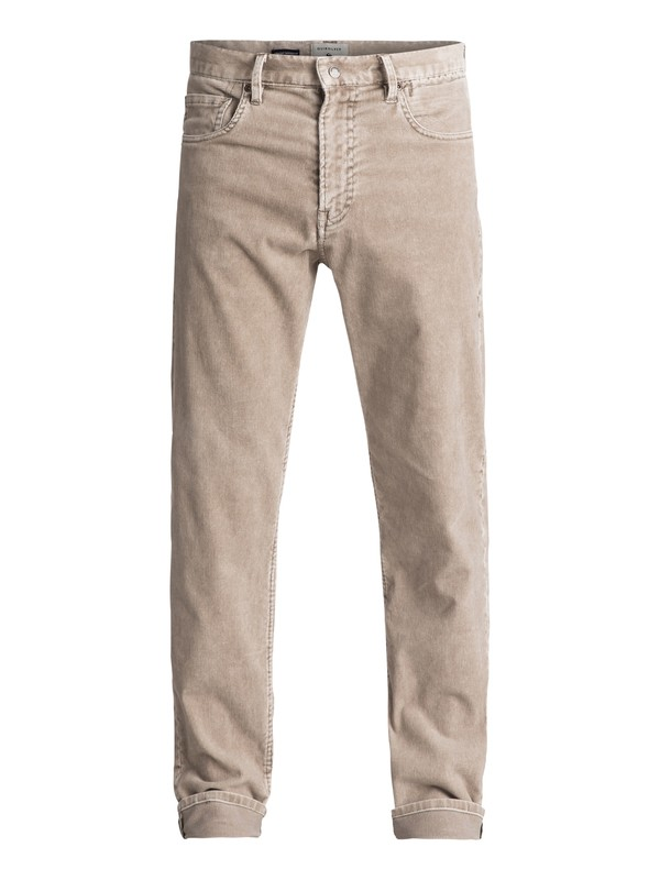 0 Kracker Corduroy Trousers Grey EQYNP03129 Quiksilver