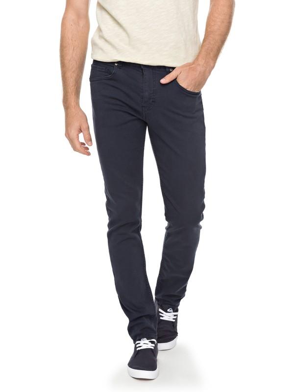 0 The Layback - Pantalon chino Bleu EQYNP03146 Quiksilver