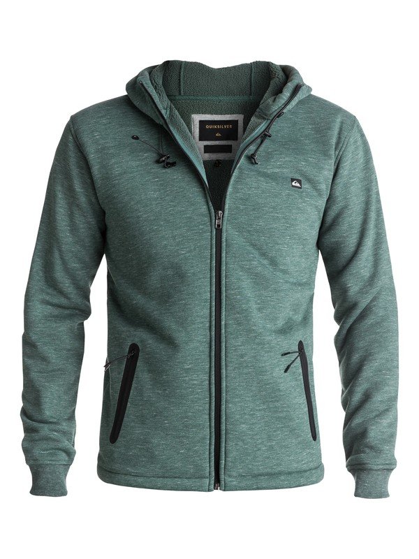 0 Kurow Sherpa - Sweat à capuche technique zippé  EQYPF03020 Quiksilver