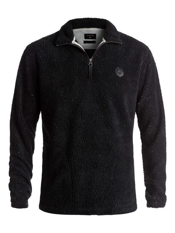 0 Dots Wood - Sweatshirt polaire Noir EQYPF03026 Quiksilver