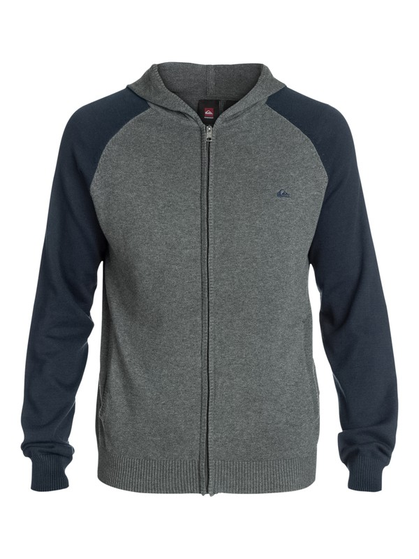 0 Creedence Zip Hooded Sweater  EQYSW03004 Quiksilver
