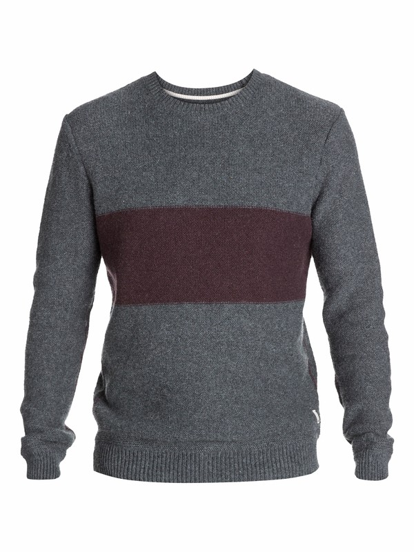 0 The Block Knit Sweater  EQYSW03024 Quiksilver