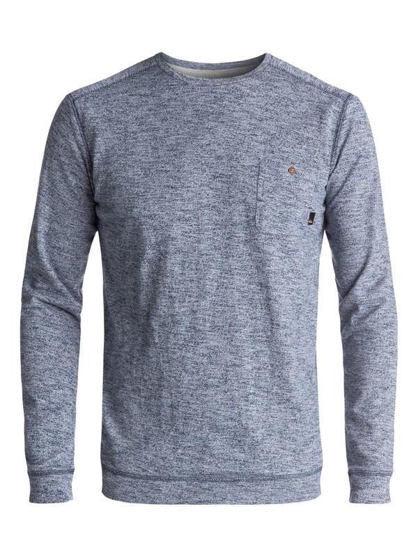 0 Lindow Sweatshirt Blue EQYSW03142 Quiksilver
