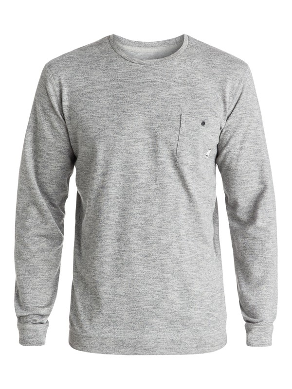0 Lindow Sweatshirt Grey EQYSW03142 Quiksilver