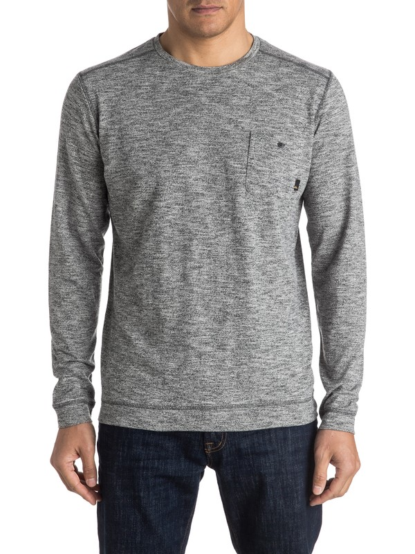 0 Lindow Sweatshirt Black EQYSW03142 Quiksilver
