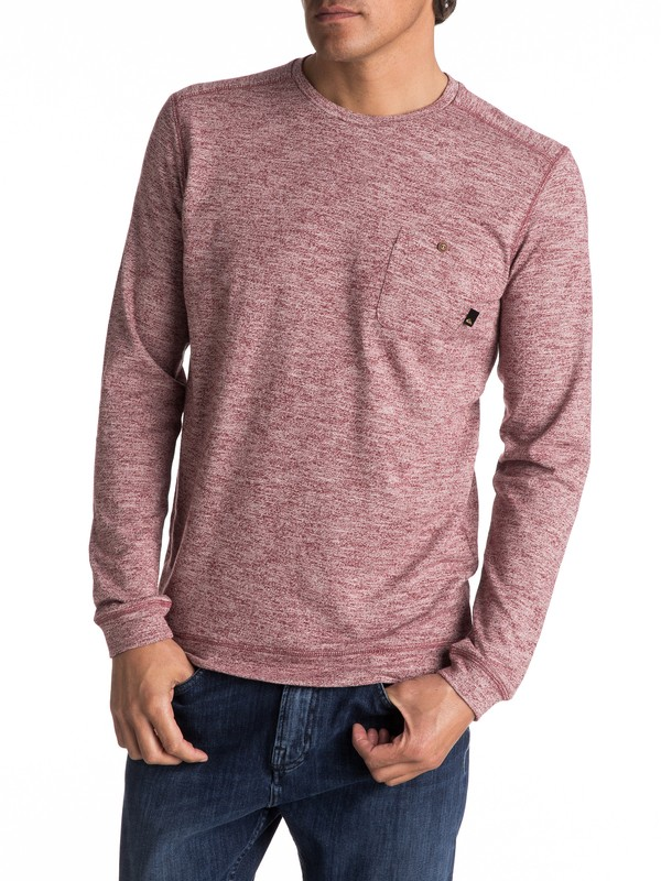 0 Lindow Sweatshirt Red EQYSW03142 Quiksilver