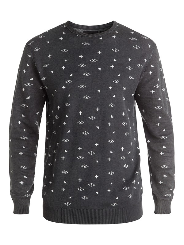 0 Eye For An Eye - Sweat Noir EQYSW03147 Quiksilver