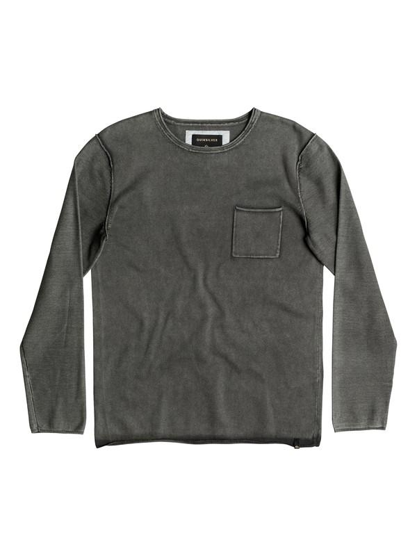 0 Astley - Pull avec poche Noir EQYSW03165 Quiksilver