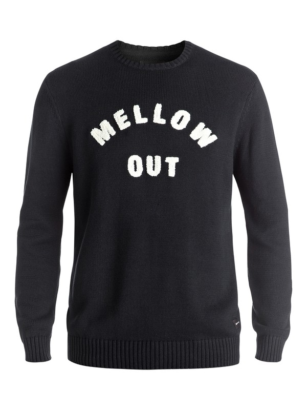 0 Mellow Out - Pullover Noir EQYSW03171 Quiksilver