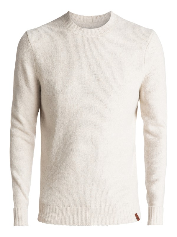 0 Temuka - Pull col rond Blanc EQYSW03188 Quiksilver