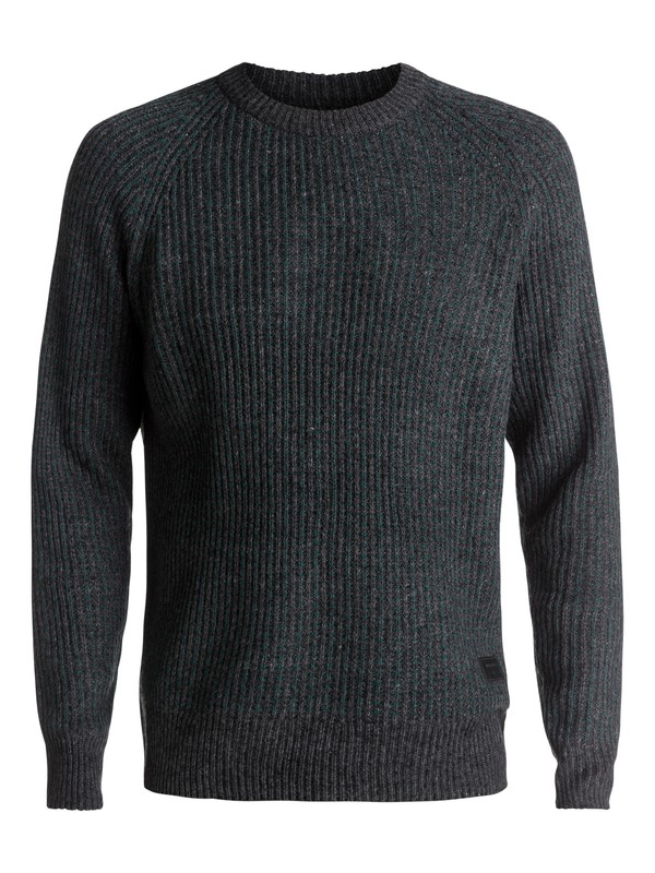 0 Bantay - Pull col rond Noir EQYSW03191 Quiksilver