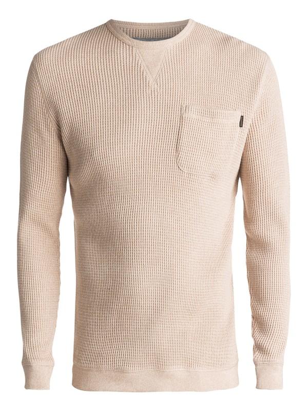 0 Kemp Ton Pocket Sweater Beige EQYSW03193 Quiksilver