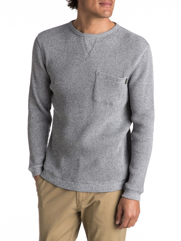 0 Kemp Ton Pocket Sweater Black EQYSW03193 Quiksilver
