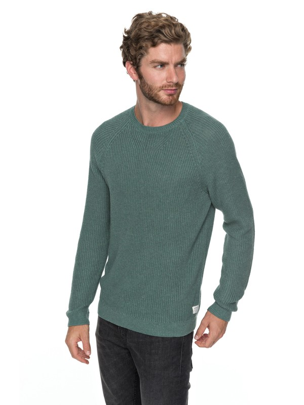 0 Rossemont - Pull col rond Bleu EQYSW03208 Quiksilver