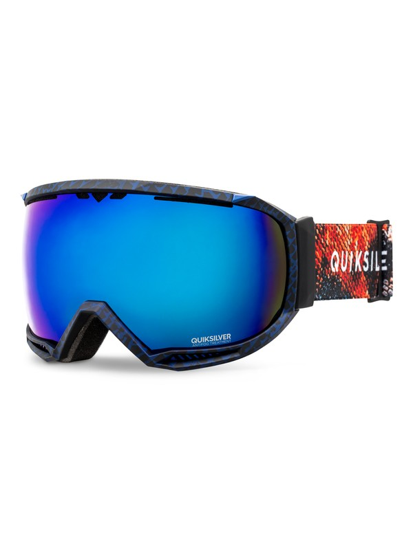 0 Hubble - Snowboard/Ski Goggles Orange EQYTG03030 Quiksilver