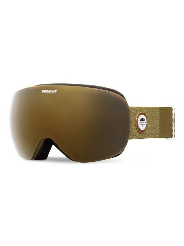 0 QS - Snowboard/Ski Goggles Brown EQYTG03032 Quiksilver