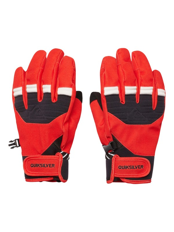 0 Method Gloves Red EQYTH00010 Quiksilver