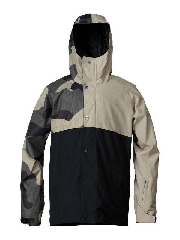 0 Decade 10K Insulated Jacket  EQYTJ00012 Quiksilver