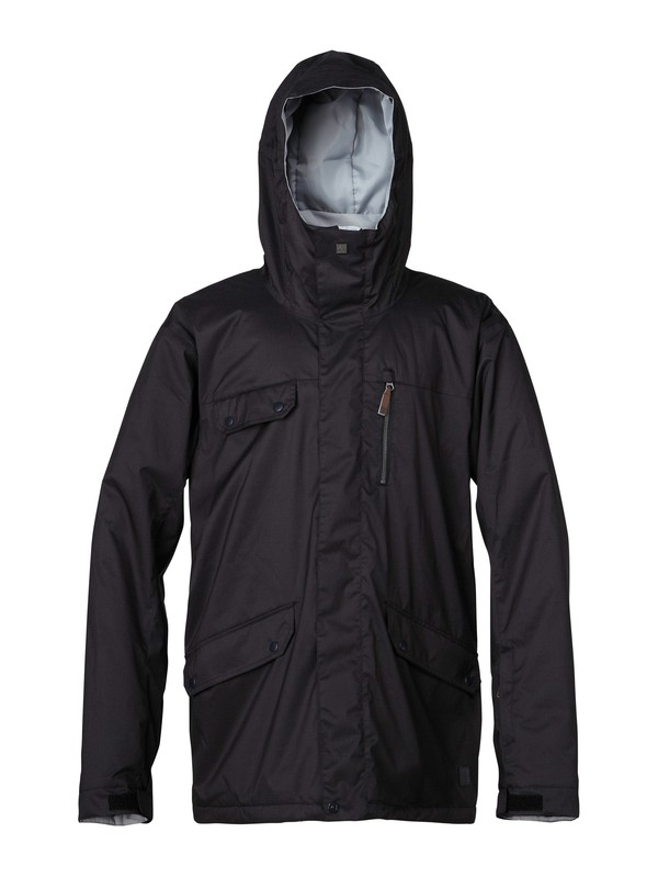 0 Raft 10K Insulated Jacket  EQYTJ00041 Quiksilver