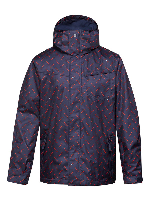 0 Mission Printed 10K Shell Jacket  EQYTJ00075 Quiksilver