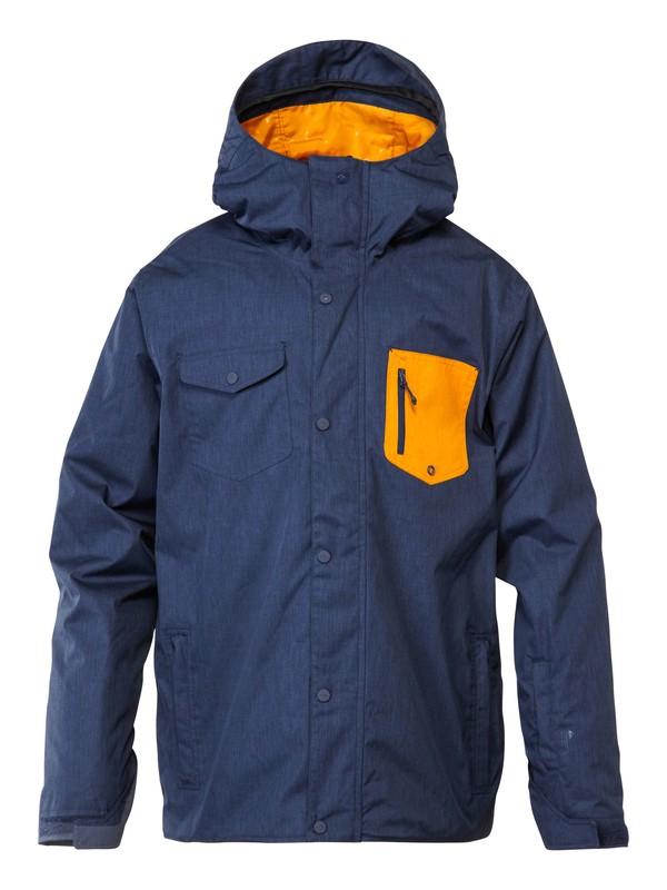 0 Versus 10K Jacket Orange EQYTJ00082 Quiksilver