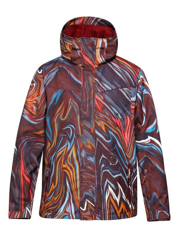 0 Travis Rice Mission Shell 10K Jacket  EQYTJ00116 Quiksilver