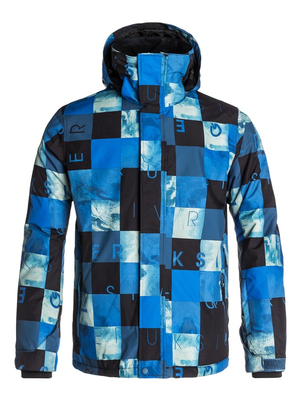 0 Mission Printed 10K Snow Jacket  EQYTJ03017 Quiksilver