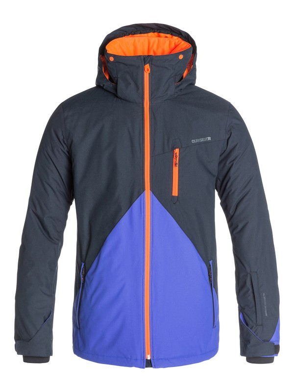 0 Mission Color Block 10K Snow Jacket  EQYTJ03018 Quiksilver