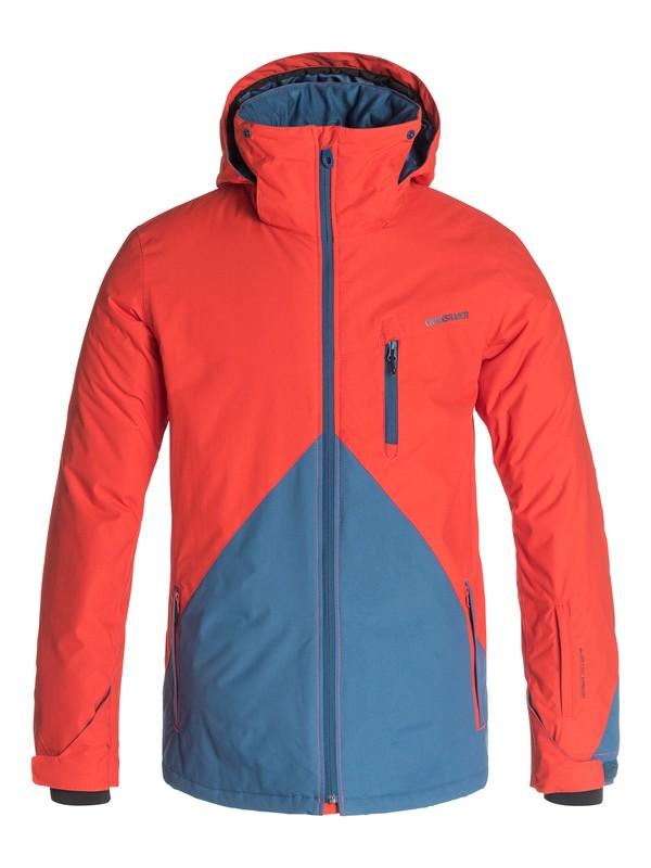 0 Mission Color Block - Veste de snow Orange EQYTJ03018 Quiksilver