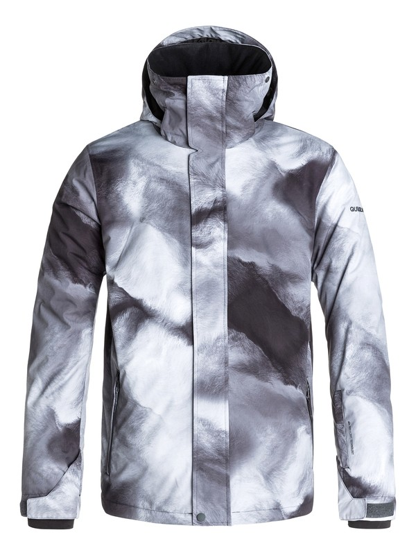 0 Travis Rice Mission Printed 10K Snow Jacket  EQYTJ03021 Quiksilver
