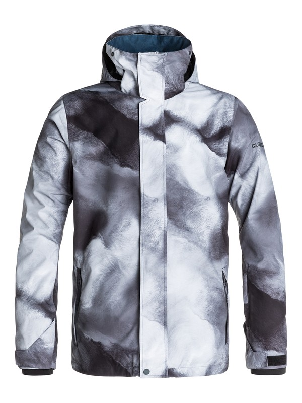 0 Travis Rice Mission Printed Shell 10K Snow Jacket  EQYTJ03035 Quiksilver