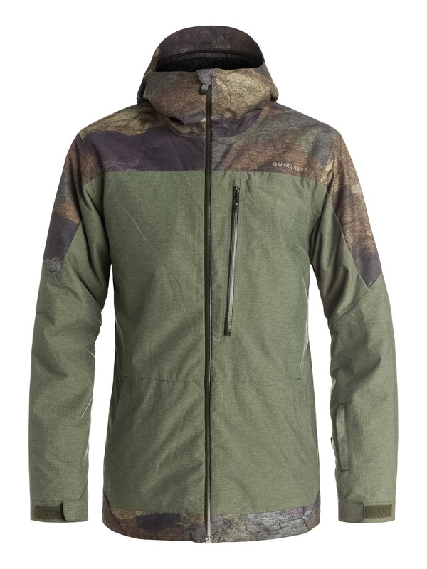 0 Tension Snow Jacket  EQYTJ03057 Quiksilver