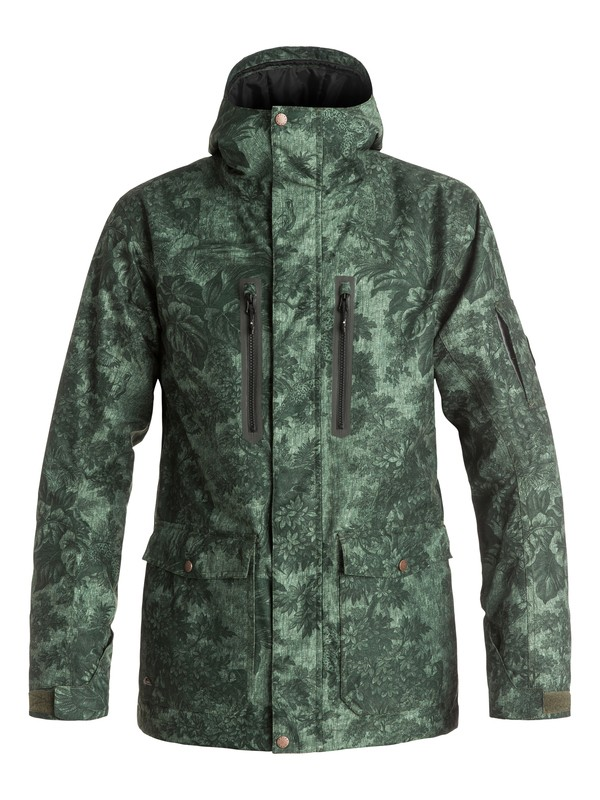0 Dark And Stormy - Veste de snow Marron EQYTJ03059 Quiksilver