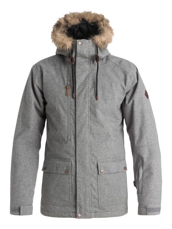0 Selector - Veste de snow Noir EQYTJ03062 Quiksilver