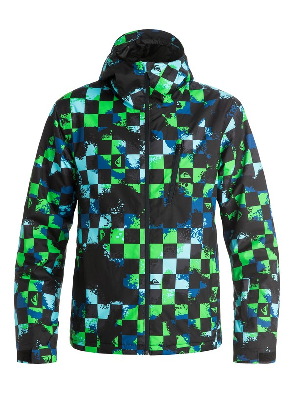 0 Сноубордическая куртка Mission Plus Синий EQYTJ03066 Quiksilver