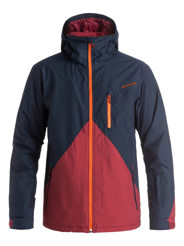 0 Mission Colorblock Snow Jacket  EQYTJ03067 Quiksilver