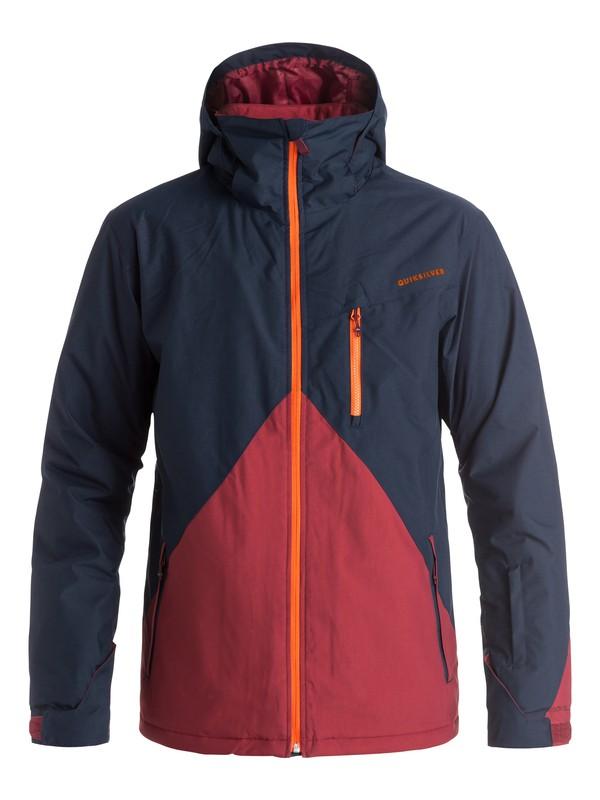 0 Сноубордическая куртка Mission Colorblock Синий EQYTJ03067 Quiksilver