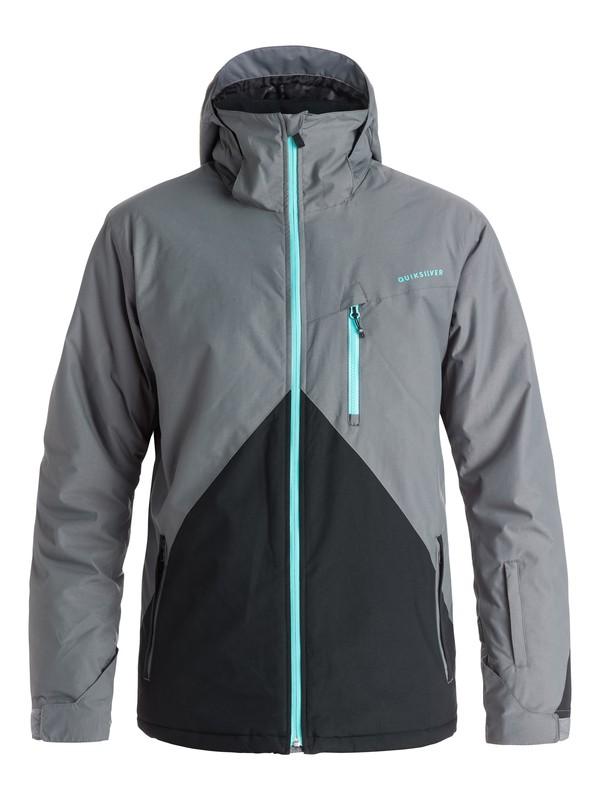 0 Сноубордическая куртка Mission Colorblock Черный EQYTJ03067 Quiksilver