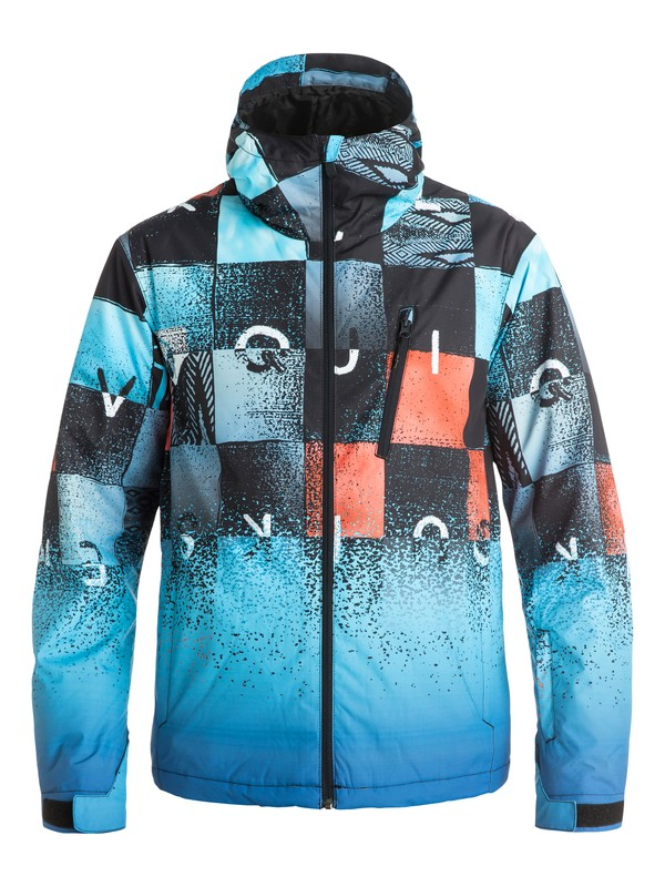 0 Сноубордическая куртка Mission Plus Mountain Exclusive  EQYTJ03087 Quiksilver