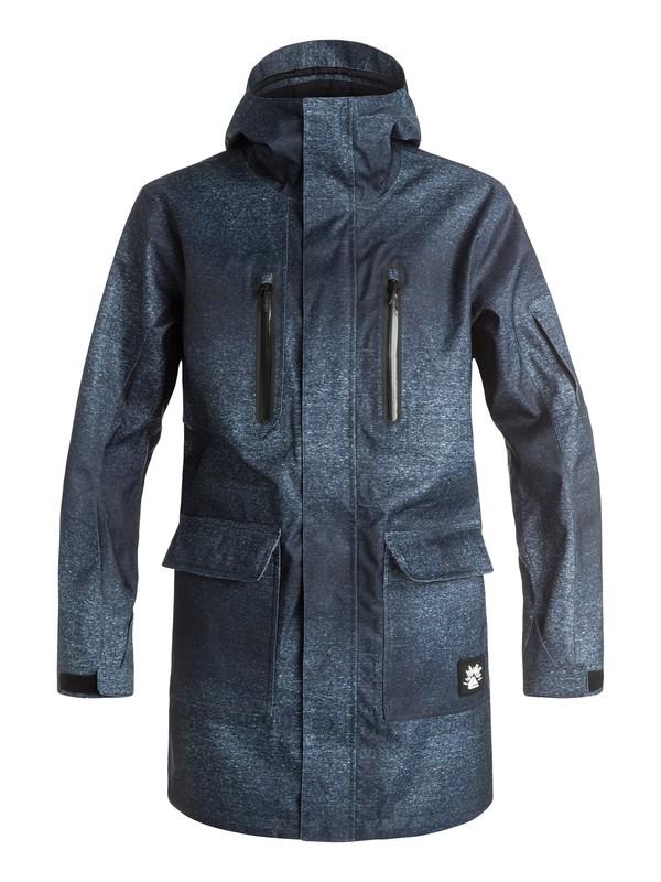 0 Quiksilver X Julien David Long Snow Jacket  EQYTJ03092 Quiksilver