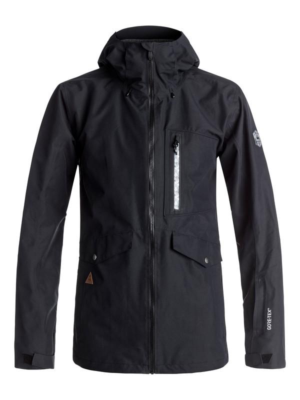 0 Black Alder 2L GORE-TEX® - Veste de snow Noir EQYTJ03113 Quiksilver