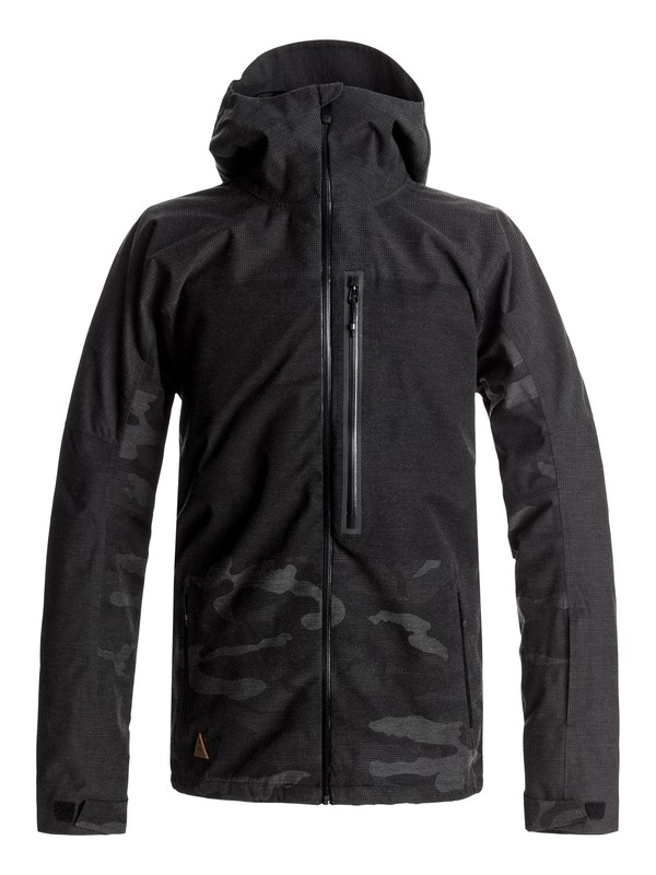0 The Cell Snow Jacket Black EQYTJ03117 Quiksilver