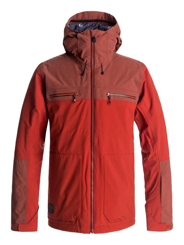 0 Сноубордическая куртка Arrow Wood Красный EQYTJ03118 Quiksilver