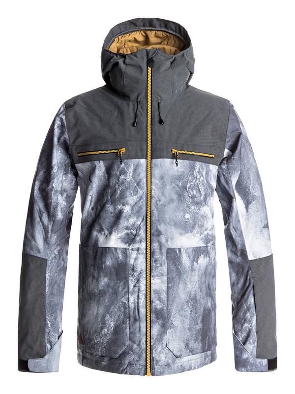 0 Arrow Wood - Snow Jacke Weiss EQYTJ03118 Quiksilver